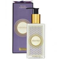 Abahna Lilac Rose & Geranium Shower Gel