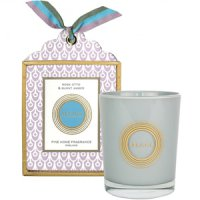 Abahna Rose Otto & Burnt Amber Natural Wax Scented Candle