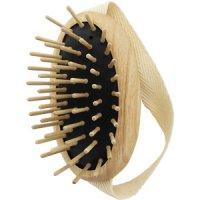 TEK Scalp massage brush with wooden pins