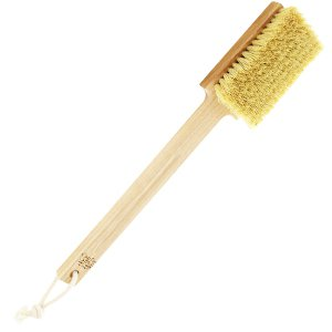 Tampico natural brush with fixed handle