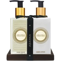 Abahna Vetiver & Cedarwood  Hand Wash & Hand Cream Set