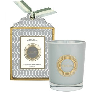 Vetiver & Cedarwood Natural Wax Scented Candle