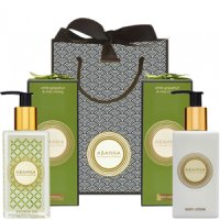 Abahna White Grapefruit & May Chang  Body Lotion and Shower Gel Set