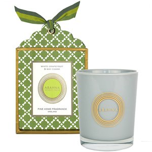 White Grapefruit & May Chang Natural Wax Scented Candle