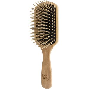 Big rectangular brush with long wooden pins