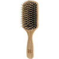 TEK Big rectangular brush with short wooden pins